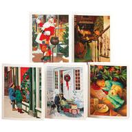 Nostalgic Christmas Notecards, Set of 20