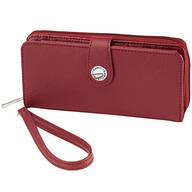 B. Amici™ Nancy RFID Leather Wallet with Wristlet