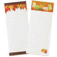 Autumn Note Pads, Set of 2
