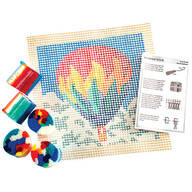 Dimensions Colorful Latch Hook Kit