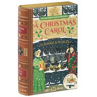 "Jigsaw Library ""A Christmas Carol"" 2-Sided Puzzle"