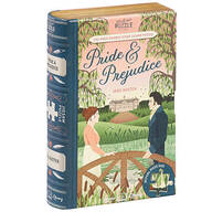 """Jigsaw Library """"Pride & Prejudice"""" 2-Sided Puzzle"""