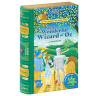 """Jigsaw Library """"The Wonderful Wizard of Oz"""" 2-Sided Puzzle"""