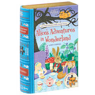 """Jigsaw Library """"Alice in Wonderland"""" 2-Sided Puzzle"""
