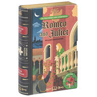 """Jigsaw Library """"Romeo and Juliet"""" 2-Sided Puzzle"""