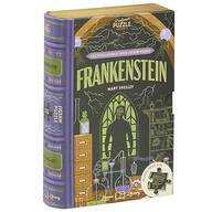 """Jigsaw Library """"Frankenstein"""" 2-Sided Puzzle"""