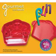 Gourmet Fun 24-Pc. Dessert Decorating Set