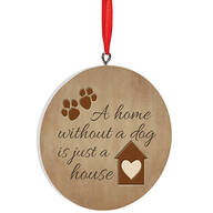 Personalized Home Without A Pet Ornament