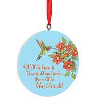 Personalized Old Friends Ornament