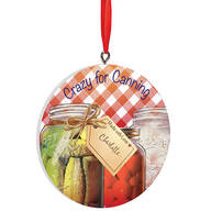 Personalized Canning Ornament