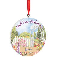 Personalized Gardening Ornament