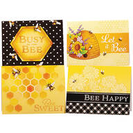 Bee Blank Greeting Cards, Set of 20