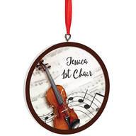 Personalized Violin Ornament