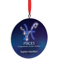 Personalized Astrology Sign Ornament