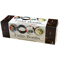 Fudgy Bombs Hot Cocoa Bombs, Pack of 3